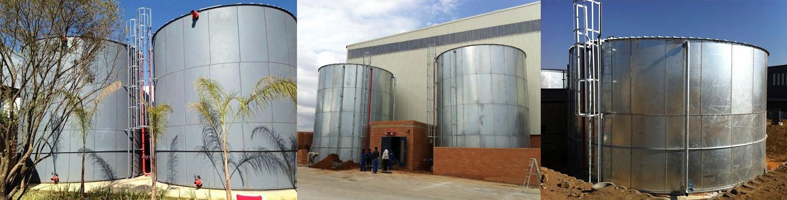 Circular Water Storage Tanks